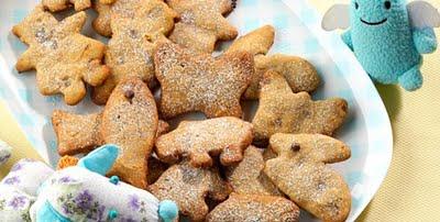 receita cookie chocolate bichinho Receitas divertidas e deliciosas para crianças