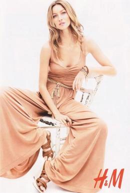 Gisele Bündchen para H&M primavera verano 2011