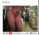 Andressa Urach mostrando os Peitos no Twitcam