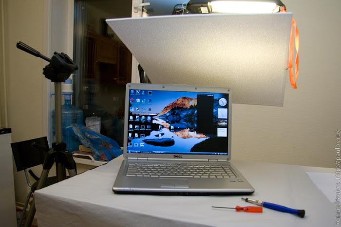 Как разобрать ноутбук Dell Inspiron 1525