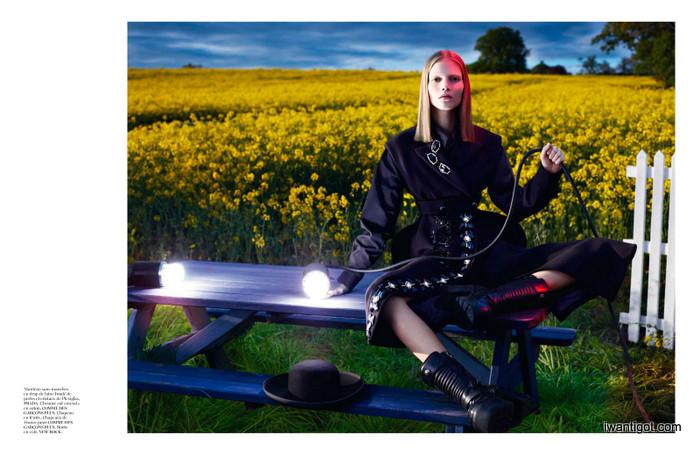 Vogue Paris September 2012 - Le Noir Partie 2