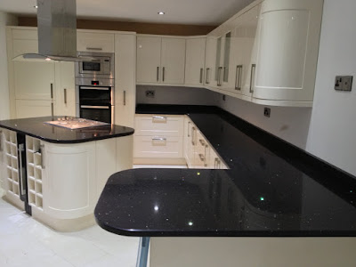 Silestone stellar night silestone 39 s stellar night quartz for Stellar night quartz price