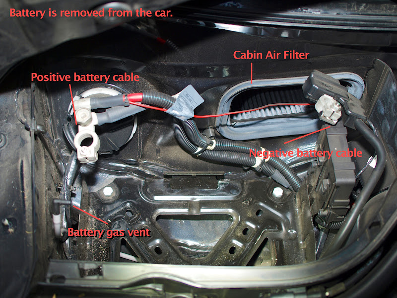 Electrical Diy Battery Replacement W Pictures North American Motoring