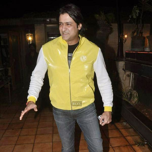 Armaan Kohli attends Sangram Singh's birthday party, held at Churchgate, on July 20, 2014.(Pic: Viral Bhayani)