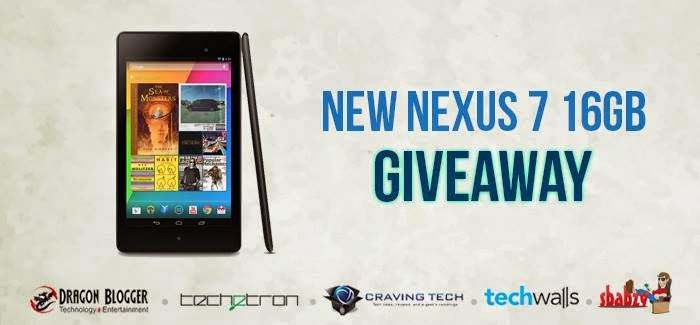 Enter Brand New Google Nexus 7 16GB Giveaway! Dragonblogger Contest
