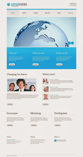 Marketing Services WordPress Theme