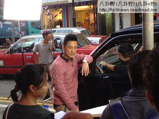 林峰、岑麗香與泳兒齊為微電影開工。