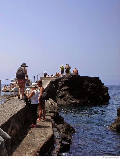 Barranco Masca, embarcadero