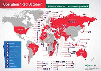 Kaspersky Lab descubre nueva campaña de ciberespionaje masivo Octubre Rojo