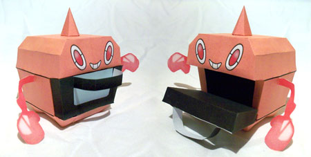 Pokemon Heat Rotom Papercraft