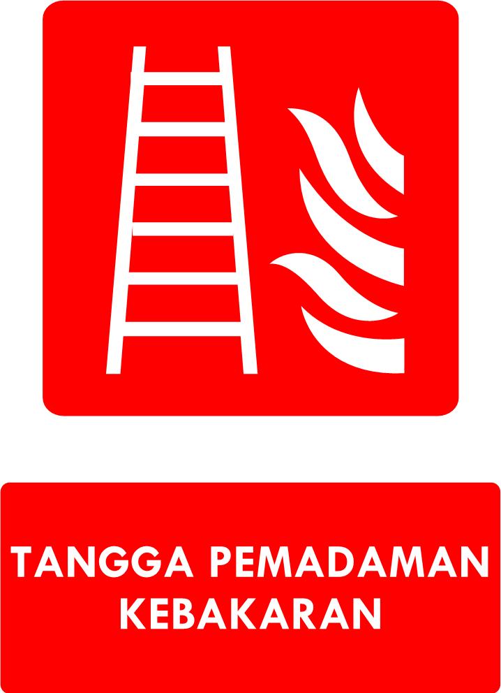 Rambu Tangga Pemadaman Kebakaran