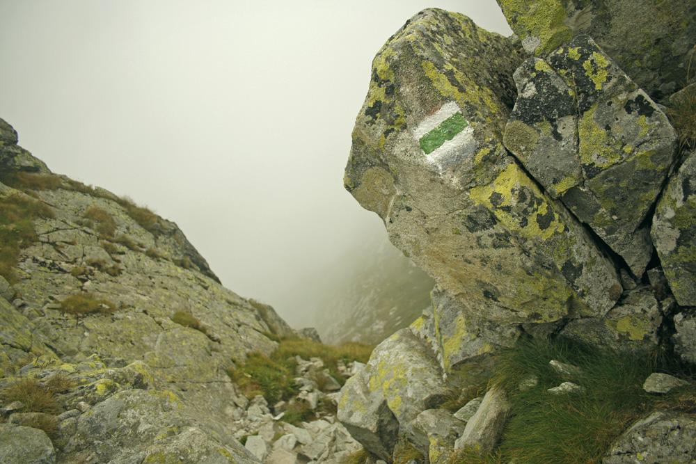 Szlak na Mięguszowiecką Przełęcz pod Chłopkiem