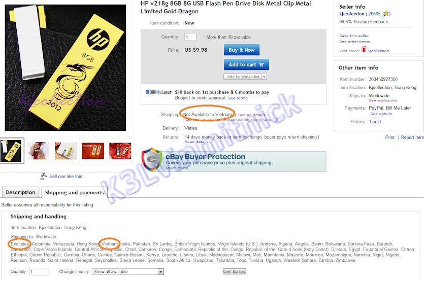 Kinh nghiệm mua bán trên Ebay