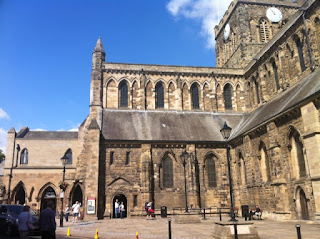 Hexham's things to do, Hexham Abbey, Northumberland