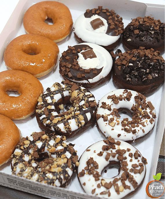 Krispy Kreme's Limited Edition Cadbury Doughnuts