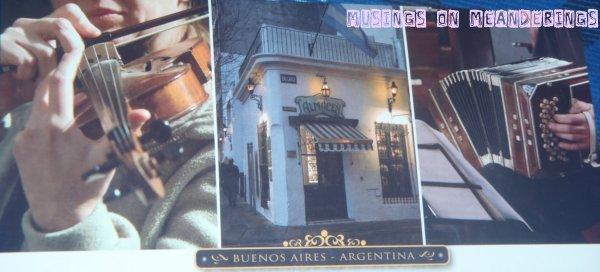 postcards, souvenirs, Argentina, Buenos Aires