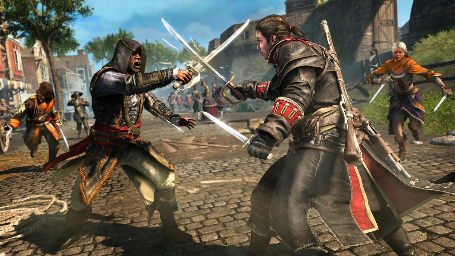 Assassin's Creed Rogue PC codex ftp dvd descarga directa