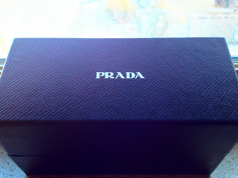 Prada Sunglasses Case