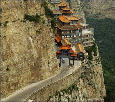 Amazing Hanging Temple