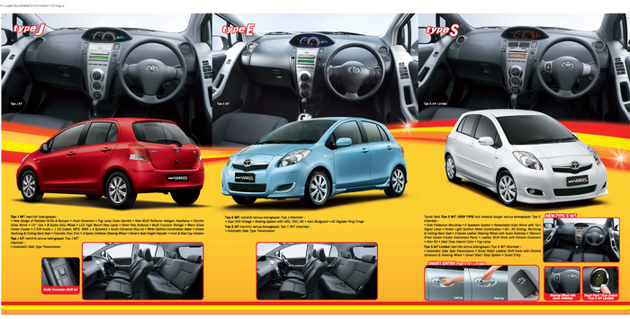 Download image Brosur Toyota All New Yaris Baru Tahun 2015 PC, Android