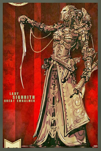 Lady Sighrith the embalmer Iron Empire