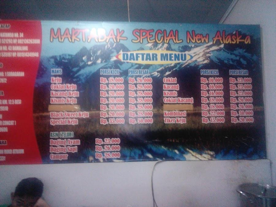 Martabak New Alaska
