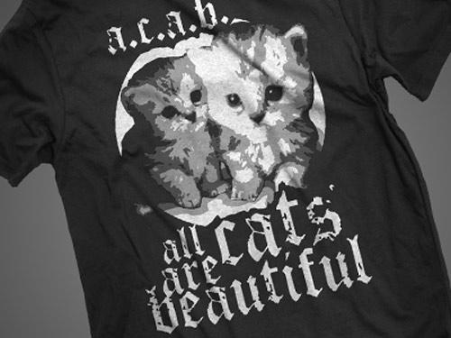 Inspiração: gatinho - camiseta