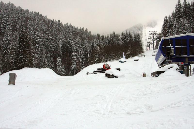 iarna zăpadă schi de tură Baiului