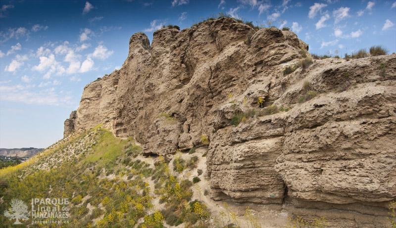 cerros del Piul, cerca desembocadura Manzanares y Jarama