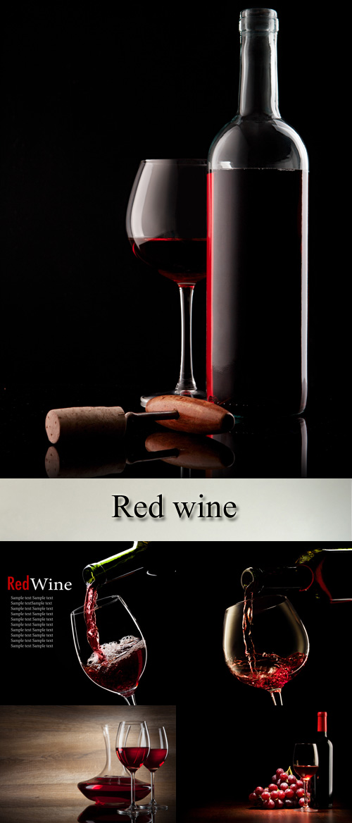 Stock Photo: Red wine 8