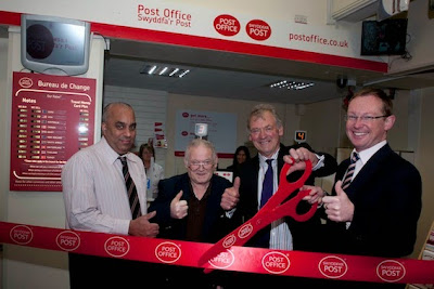 Refurbished Post Office opens