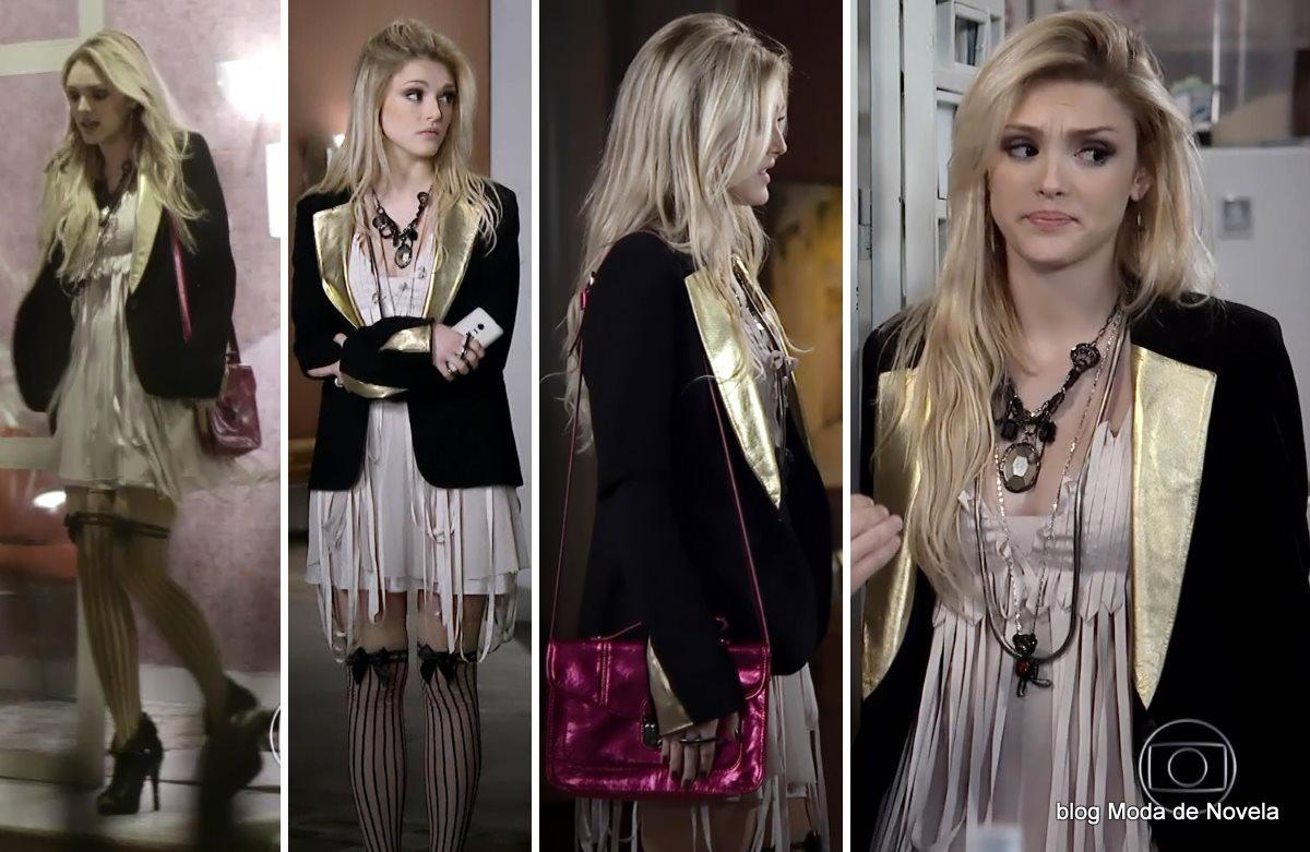 moda da novela Geração Brasil, look da Megan dia 4 de agosto