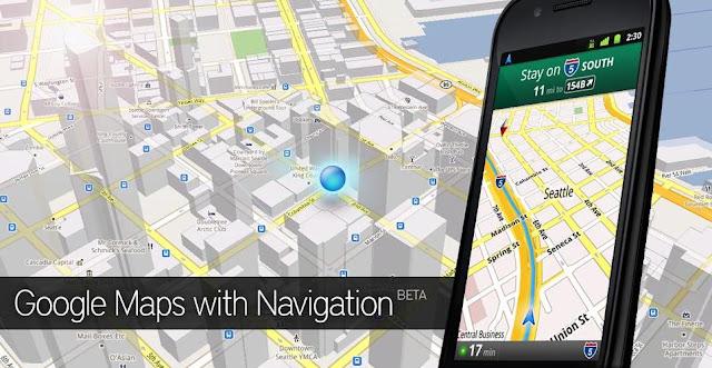 Google Maps 5.2 pour Android Tweetez  vos notes HotPot et Google Latitude