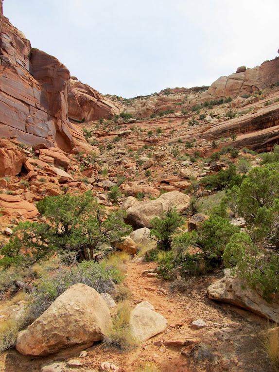 A steep, ugly climb ahead
