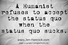 Refuse to accept the status quo when the status quo sucks!