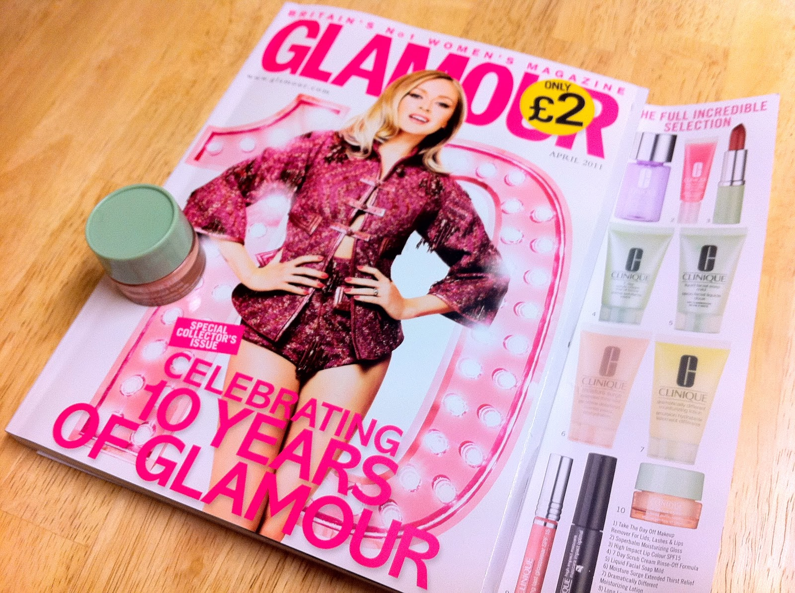 fashion magazine freebies