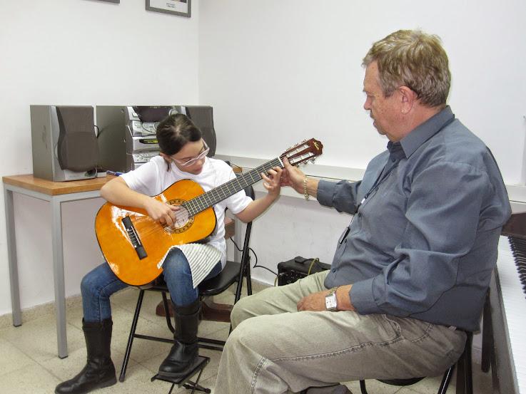 """Концерт учеников классов вокала, флейты, гитары, аккордеона.  """"Титора"""". Модиин.  31.05.2015"""