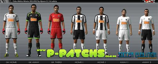 Atlético Mineiro 11-12 Kitset para PES 2011 PES 2011 download P-Patchs
