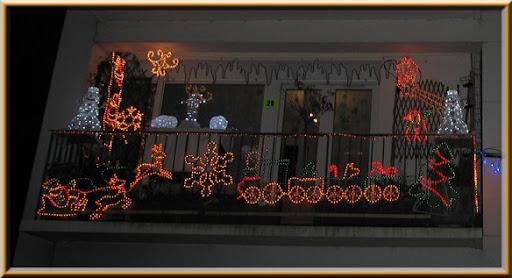 voisin balcon Noël 2009