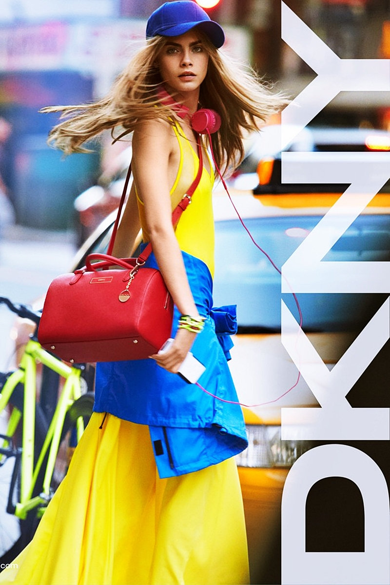 *DKNY 2013春夏就靠Cara Delevingne:另有與Opening Ceremony聯名90風! 3