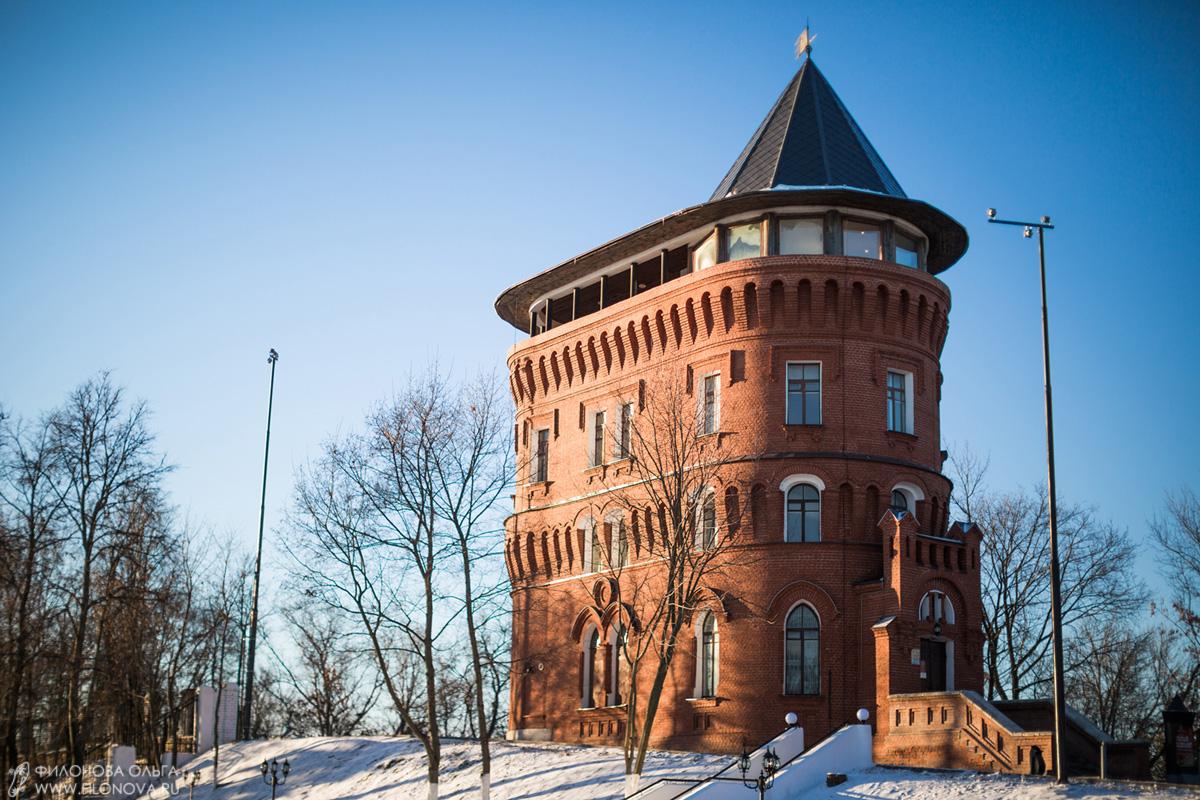 Водонапорная башня владимир время работы