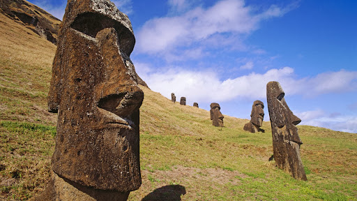 Moais at Rano Raraku Quarry, Easter Island, Chile.jpg