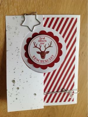 SU Weihnachtskarte