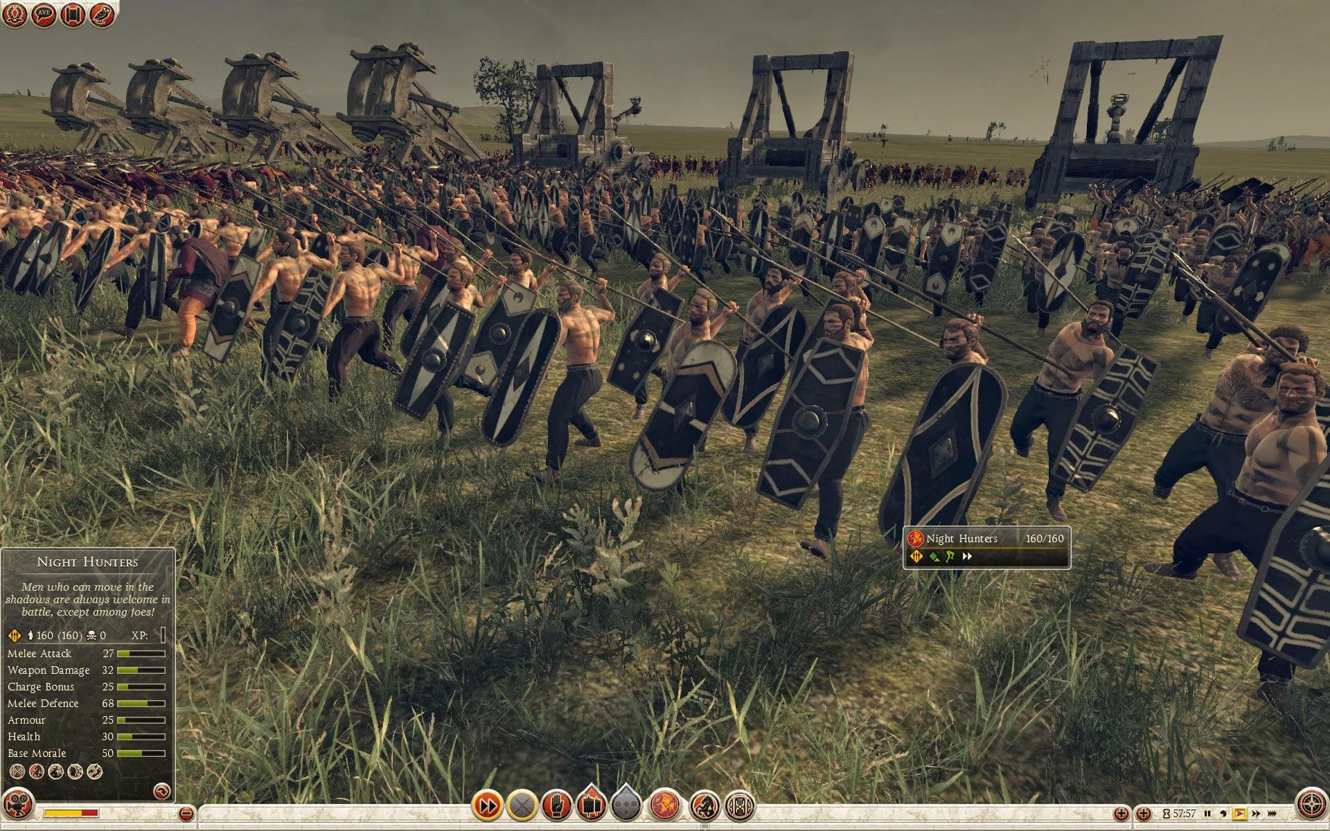 Night Hunters - Suebi - Total War: Rome II - Royal Military Academy