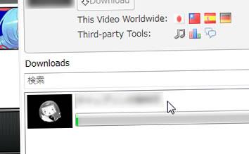 ニコニコ動画のコメントと動画をダウンロード、再生 NicoFox 0.7
