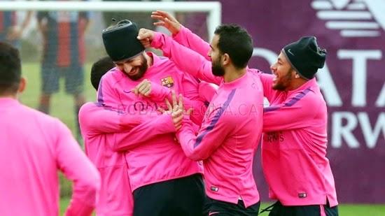 Barca và Valencia chuẩn bị cho trận đại chiến