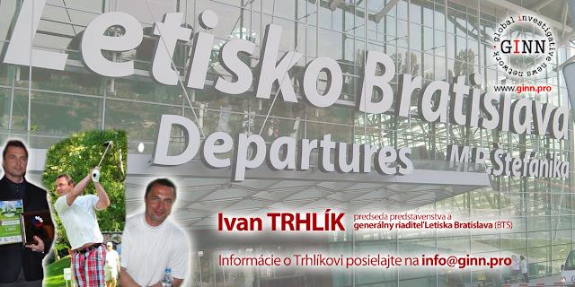 Ivan Trhlík, Letisko Bratislava