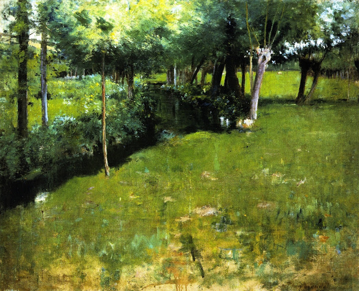 Theodore Wendel – Brook, Giverny
