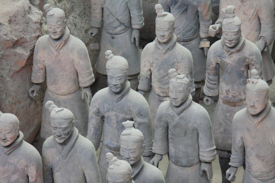 Visitar o EXÉRCITO DE TERRACOTA desde Xian   China