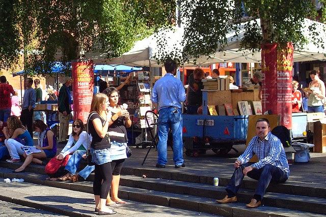 Temple Bar Book Market. From 28 Best Bookshops in Dublin